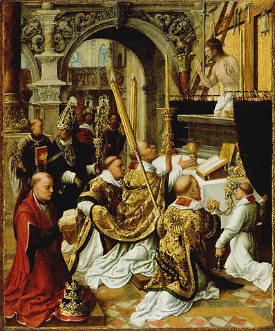 The Mass of St. Gregory by Ysenbrandt