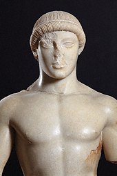 Statue of a Kouros (The Agrigento Youth) / Greek