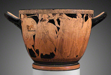Cup with the Departure and Recovery of Helen / Greek