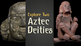 Interactive: Two Aztec deities