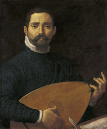 Portrait of the Lute Player / Annibale Carracci