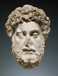 Head of Emperor Commodus / Roman