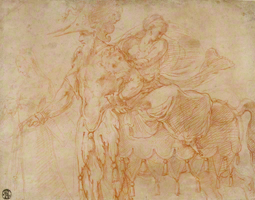 Centaur and Lapith / Primaticcio