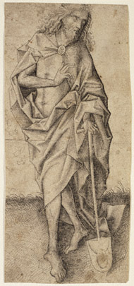 Christ as Gardener / Upper Rhenish Master