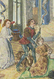 <i>Charles the Bold Presented by Saint George, in Prayer Book of Charles the Bold</i>