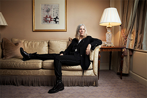 Patti Smith. Portrait by Jesse Dittmar
