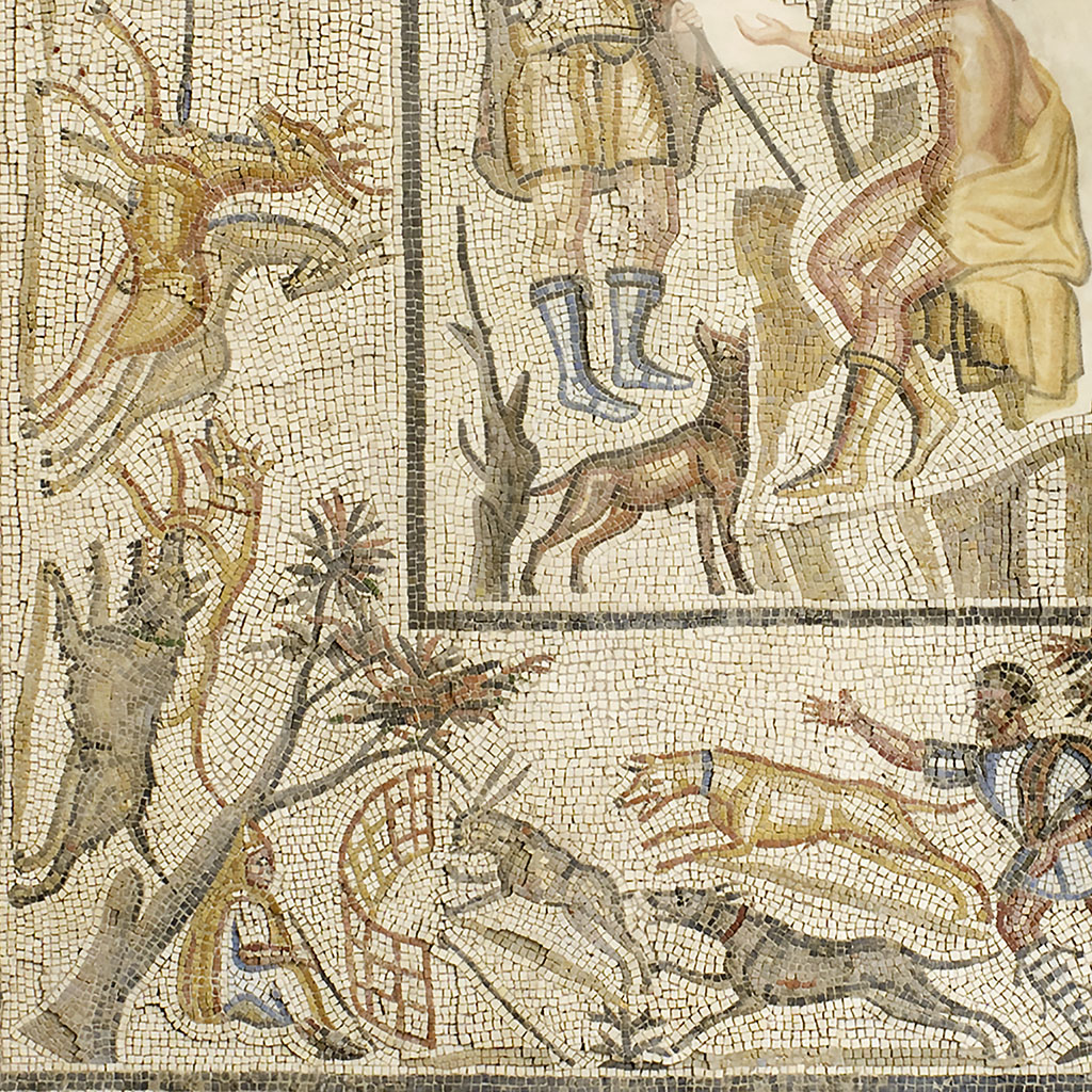Diana and Callisto Surrounded by a Hunt (detail)