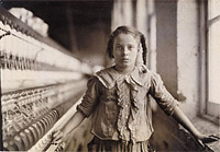 Cotton-Mill Worker / Hine