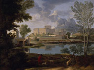 Landscape with Calm / Poussin