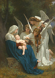 Virgin of the Angels / Bouguereau