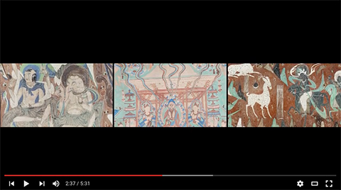 Video: Overview of the Cave Temples of Dunhuang