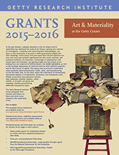 2015-2065 Scholar Year Poster: Art and Materiality