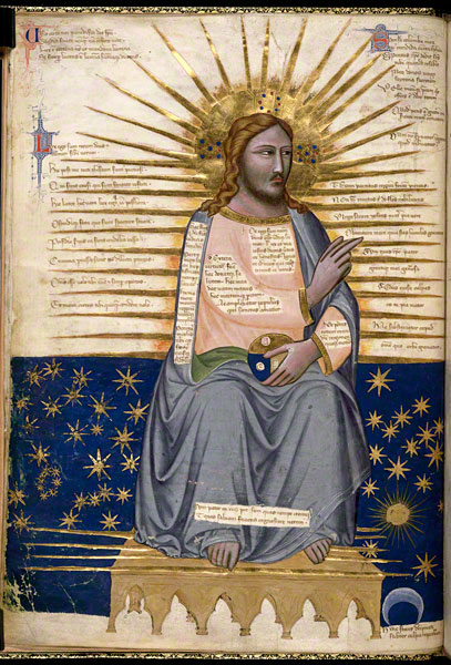 Christ Enthroned / Pacino