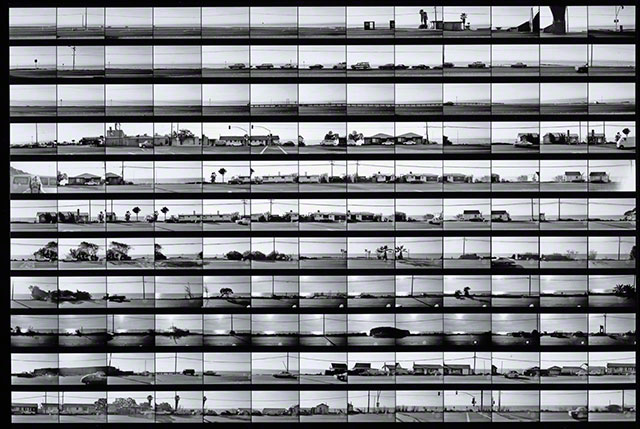Contact sheet for Pacific Coast Highway