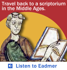 Audio: Listen to a monk describe working in a scriptorium