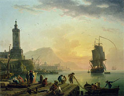 A Calm at a Mediterranean Port/Vernet