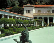 Outer Peristyle, The J. Paul Getty Museum at the Getty Villa