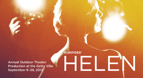 Euripides' Helen - world premiere at the Getty Villa