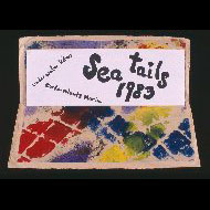 Matisse / Hand painted card with announcement of Sea Tails premiere