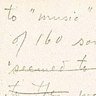 Tudor / Letter to John Cage about performances in Boulder, Colorado