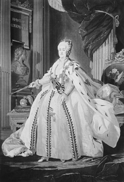 Standing portrait of Catherine the Great / Unknown