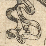 Jacques Guillemeau, L&eacute;onard Gaultier, and Alexandre Vall&eacute;e, Frontispiece to <em>Tables anatomiques . . .</em>, 1586 (detail) (84-B28033)