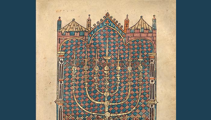 Art of Three Faiths: a Torah, a Bible, and a Qur'an | Getty360 Calendar