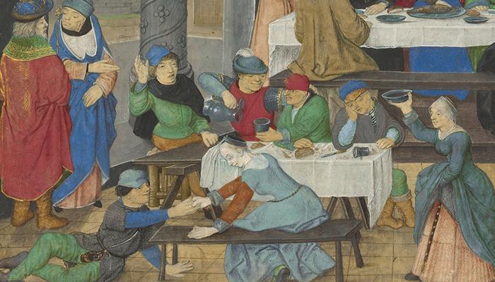 drink ages middle renaissance eat master getty food merry temperate intemperate bruges maximus valerius detail museum visit deeds romans memorable