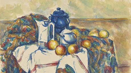Paul Cezanne's Still Life with Blue Pot