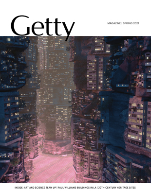 Cover, Getty Magazine, Spring 2021