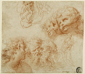 Sheet of Studies / Procaccini