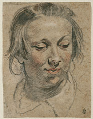 Head of a Woman / Jordaens