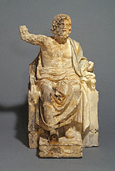 Enthroned Zeus/unknown