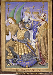 Louis XII of France Kneeling in Prayer