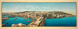 Panorama of Algiers / French