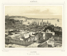 Algiers, Taken from the Casbah / Bettinger