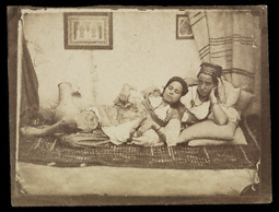 Women of Algiers / cricle of Charles Marville