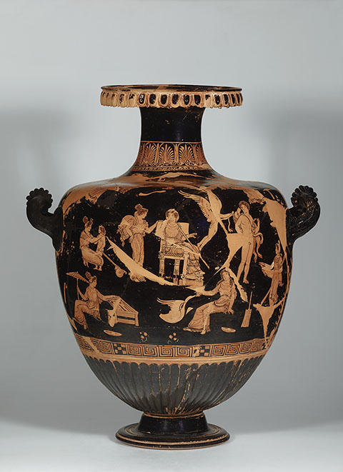 Dangerous Perfection Funerary Vases From Southern Italy