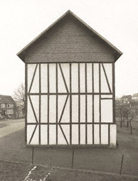 Framework House, Slated Gable Side, Rensdorfstrasse 1, Salchendorf, Germany / Becher