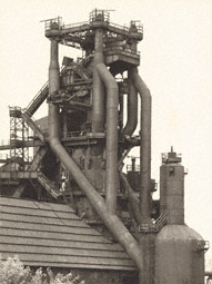 Blast Furnace, Cleveland, Ohio, United States / Becher