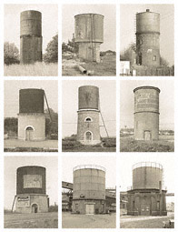 Water Towers, France and Germany / Becher
