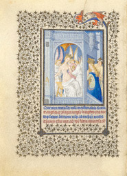 Saint Catherine Tended by Angels / Limbourg