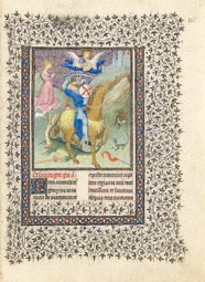 Saint George and the Dragon / Limbourg