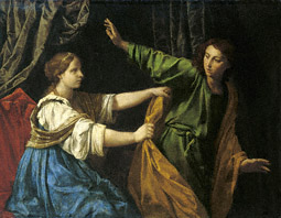 Joseph and Potiphar's Wife / Cantarini