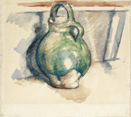 The Green Pot / Cézanne