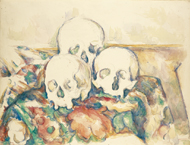 Three Skulls / Cézanne