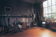 Cézanne's studio in Les Lauves, France
