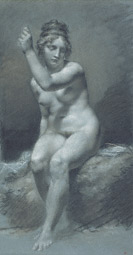 Study of a Female Nude / Prud'hon