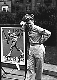 Soldier with Poster / Unknown