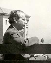 J. Paul Getty in Malibu